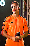 "Real Madrid player Lucas Vazquez during the presentation of the new pack of Adidas football shoes ""Speed of Light"" in Madrid. September 16, 2016. (ALTERPHOTOS/Borja B.Hojas)"
