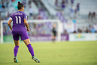 Orlando, FL - Saturday July 15, 2017: Ali Krieger during a regular season National Women's Soccer League (NWSL) match between the Orlando Pride and FC Kansas City at Orlando City Stadium.