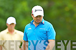 Grame McDowell in action at the Irish Open in Killarney on Friday..................