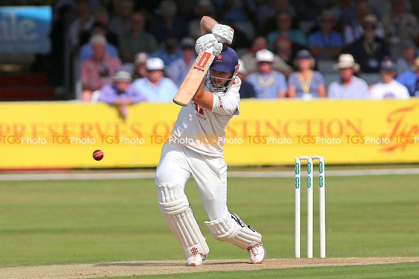 Nick Browne in batting action for Essex during Essex CCC vs Glamorgan CCC, Specsavers County Championship Division 2 Cricket at the Essex County Ground on 13th September 2016