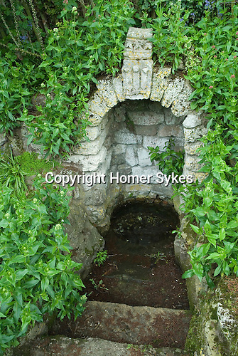 Edward the Black Prince's Well. Harbledown Kent.  Pilgrims Way near Canterbury.