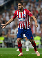 Koke Resurrecccion of Atletico Madrid during the match between Real Madrid v Atletico Madrid of LaLiga, date 7, 2018-2019 season. Santiago Bernabéu Stadium. Madrid, Spain - 29 SEP 2018.