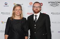 NEW YORK, NY - NOVEMBER 19: Charlotte Moore and Craig Hunter  at the 40th International Emmy Awards in New York. November 19, 2012. © Diego Corredor/MediaPunch Inc. /NortePhoto