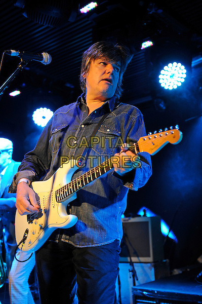 LONDON, ENGLAND - APRIL 25: Dr. Robert (Robert Howard) of 'The Blow Monkeys' performing at Under The Bridge on April 25, 2015 in London, England.<br /> CAP/MAR<br /> &copy; Martin Harris/Capital Pictures