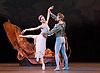 A Midsummer Night's Dream <br /> Mariinsky Ballet <br /> by George Balachine at The Royal Opera House, Covent Garden, London, Great Britain <br /> rehearsal <br /> 8th August 2014 <br /> <br /> Uliana Lopatkina as Titania<br /> Andrei Yermakov as Titania's Cavalier<br /> Dmitri Vedeneev as Bottom <br /> Vladislav Shumkov as Puck <br /> Filipp Stepin as Oberon <br /> <br /> also ... <br /> first night cast <br /> <br /> Vicktoria Tereshkina as Titania<br /> Timur Askerov as Titania's Cavalier<br /> <br /> Photograph by Elliott Franks <br /> Image licensed to Elliott Franks Photography Services