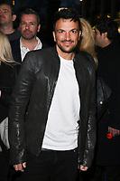 Peter Andre<br /> arriving for James Ingham's Jog on to Cancer 2018 at Cafe de Paris, London<br /> <br /> ©Ash Knotek  D3391  04/04/2018