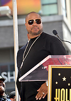 LOS ANGELES, CA. April 18, 2019: Xzibit at the Hollywood Walk of Fame Star Ceremony honoring hip-hop group Cypress Hill.<br /> Pictures: Paul Smith/Featureflash