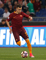Calcio, Serie A: Roma vs Juventus. Roma, stadio Olimpico, 14 maggio 2017. <br /> Roma&rsquo;s Stephan El Shaarawy in action during the Italian Serie A football match between Roma and Juventus at Rome's Olympic stadium, 14 May 2017. Roma won 3-1.<br /> UPDATE IMAGES PRESS/Riccardo De Luca