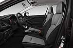 Front seat view of a 2018 Subaru Crosstrek 4wd 5 Door SUV front seat car photos