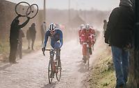 Piet Allegaert (BEL/Sport Vlaanderen-Baloise)<br /> <br /> 50th GP Samyn 2018<br /> Quaregnon > Dour: 200km (BELGIUM)