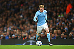 Kevin De Bruyne of Manchester City in action - Manchester City vs Monchengladbach - UEFA Champions League - Etihad Stadium - Manchester - 08/12/2015 Pic Philip Oldham/SportImage
