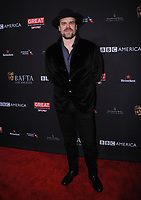 06 January 2018 - Beverly Hills, California - David Harbour. 2018 BAFTA Tea Party held at The Four Seasons Los Angeles at Beverly Hills in Beverly Hills. <br /> CAP/ADM/BT<br /> &copy;BT/ADM/Capital Pictures