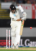 22nd March 2018, Eden Park, Auckland, New Zealand; International Test Cricket, New Zealand versus England, day 1;  Kane Williamson batting