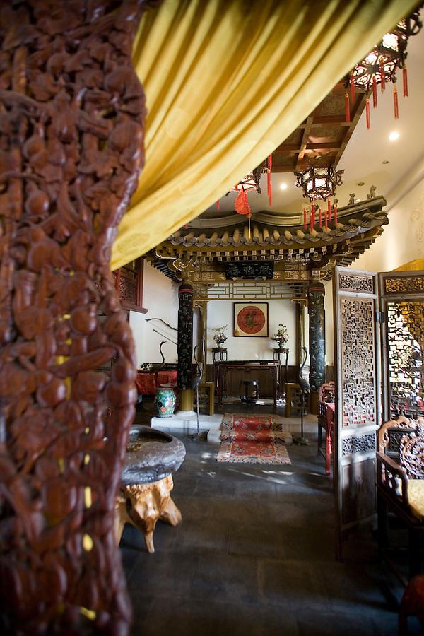 The Xi Huayuan Tea House in Beijing.