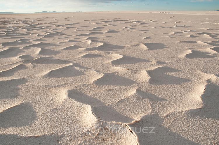 Salt patterns of Salar de Uyuni