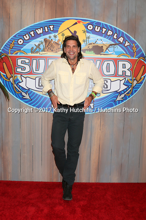 """LOS ANGELES - MAY 24:  Troyzan Robertson at the """"Survivor: Game Changers - Mamanuca Islands"""" Finale at the CBS Studio Center on May 24, 2017 in Studio City, CA"""
