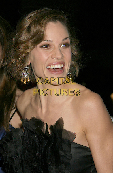 """HILARY SWANK.""""P.S. I Love You"""" Los Angeles Premiere at Grauman's Chinese Theatre, Hollywood, California, USA,.9 December 2007..portrait headshot funny.CAP/ADM/RE.©Russ Elliott/AdMedia/Capital Pictures."""