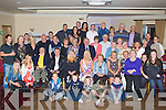 SURPRISE BIRTHDAY: Helen Lyons, Cahill's Park, Tralee (seated centre) go a big surprise when a large group of family and friends gathered to celebrate her 85th birthday at the Strand Road clubhouse, Tralee on Friday.