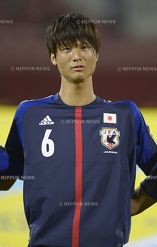Masaomi Nakano (JPN),<br /> OCTOBER 21, 2013 - Football / Soccer :<br /> FIFA U-17 World Cup UAE 2013 Group D match between Japan 3-1 Venezuela at Sharjah Stadium in Sharjah, United Arab Emirates. (Photo by FAR EAST PRESS/AFLO)