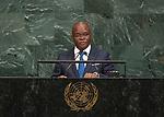 72 General Debate &ndash; 22 September <br /> <br /> Benin