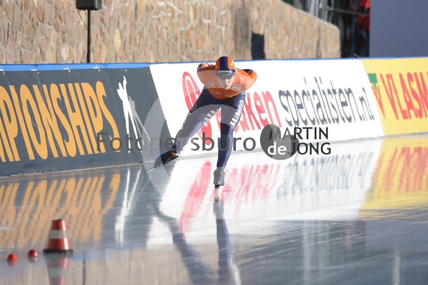SPEED SKATING: COLLALBO: Arena Ritten, 11-01-2019, ISU European Speed Skating Championships, Antoinette de Jong (NED), ©photo Martin de Jong