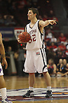 LAS VEGAS, NV - MARCH 7:  Mickey McConnell during the Saint Mary's Gaels 69-55 win over the Portland Pilots in the WCC Basketball Tournament on March 7, 2010 at Orleans Arena in Las Vegas Nevada.
