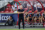Bayern Munich Coach Carlo Ancelotti during the International Champions Cup match between FC Bayern and FC Internazionale at National Stadium on July 27, 2017 in Singapore. Photo by Marcio Rodrigo Machado / Power Sport Images