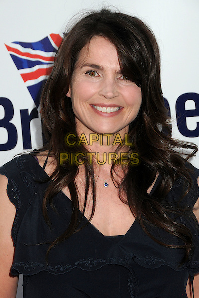JULIA ORMOND.5th Annual BritWeek Launch Party held at the British Consul General's Home, Los Angeles, California, USA, .26th April 2011..portrait headshot black frill necklace .CAP/ADM/BP.©Byron Purvis/AdMedia/Capital Pictures.