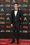 Marc Clotet attends 30th Goya Awards red carpet in Madrid, Spain. February 06, 2016. (ALTERPHOTOS/Victor Blanco)