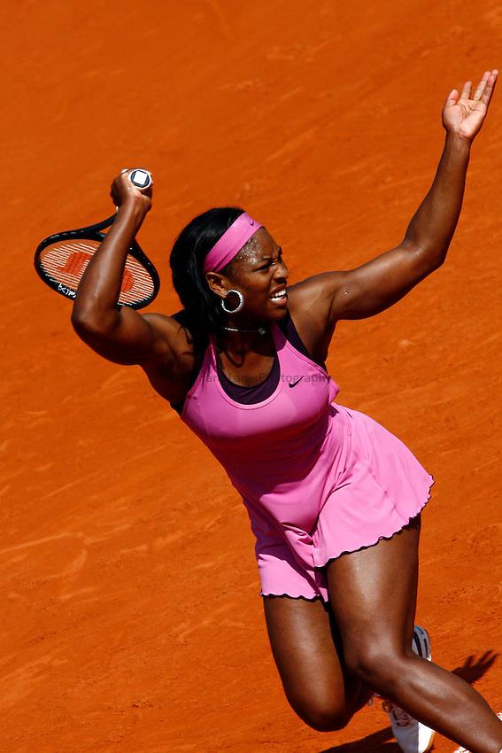 Photo: Iconsport/Richard Lane Photography..French Open, Roland Garros 2007. 31/05/2007..Serena Williams.