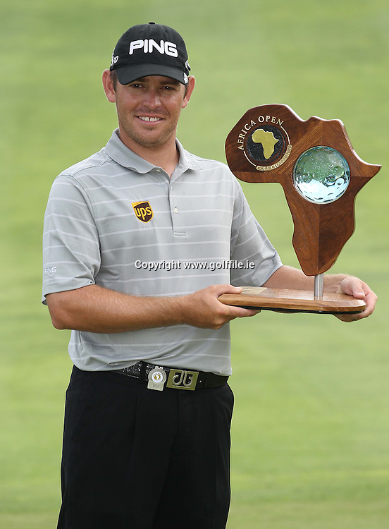 EAST LONDON, SOUTH AFRICA - JANUARY 08, Louis Oosthuizen during day 4 of the Africa Open at East London Golf Club on January 08, 2012 on East London, South Africa..Photo by Luke Walker www.golffile.ie