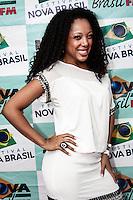SÃO PAULO, 01 de SETEMBRO, 2012 - FESTIVAL NOVA BRASIL FM - Negra Li na Terceira  Edicao do Festival Nova Brasil FM - grandes nomes da MPB na Arena Anhembi, nesse sabado, 01- FOTO LOLA OLIVEIRA - BRAZIL PHOTO PRESS