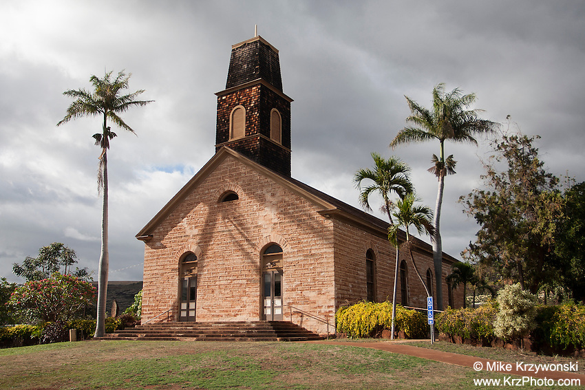 """Foreign Church"", Waimea, Kauai, Hawaii"