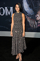 "LOS ANGELES, CA. October 01, 2018: Jenny Slate at the world premiere for ""Venom"" at the Regency Village Theatre.<br /> Picture: Paul Smith/Featureflash"