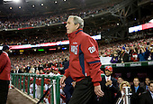 30 March 2008 - Washington, D.C. - President George W. Bush arrives at Nationals Stadium to throw out the first pitch on opening day. The game is the first regular season game in the newly completed stadium. Photo Credit: Kristoffer Tripplaar/ Sipa Press..