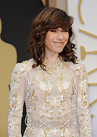 HOLLYWOOD, CA - MARCH 2: Sally Hawkins arriving to the 2014 Oscars at the Hollywood and Highland Center in Hollywood, California. March 2, 2014. Credit: SP1/Starlitepics. /NORTePHOTO