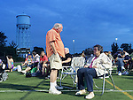 Beatlemania outdoor public concert at Tully Park, Garden City Park, New York, July 19, 2014