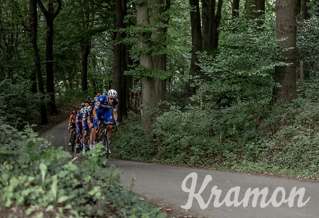 Niki Terpstra (NED/Quick Step Floors) in front of the peloton. <br /> <br /> 1st Great War Remembrance Race 2018 (UCI Europe Tour Cat. 1.1) <br /> Nieuwpoort > Ieper (BE) 192.7 km