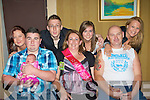 Tracey Lyne Whitebridge Manor Killarney who celebrated her 40th birthday with her family and friends in the Killarney Avenue Hotel front row l-r: Ritchie, Mia O'Brien, Tracey Lyne, Mike O'Brien. Back row: Danni O'Brien, Christopher Lyne, Alanna Lyne and Claire O'Brien