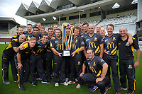 The 2017 Wellington Firebirds team photo at the Basin Reserve in Wellington, New Zealand on Monday, 27 March 2016. Photo: Dave Lintott / lintottphoto.co.nz