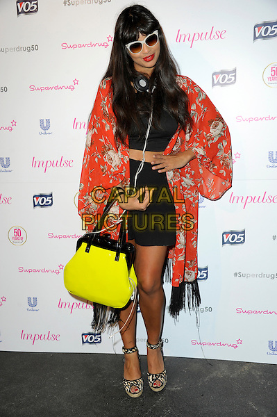 LONDON, ENGLAND - JUNE 10: Jameela Jamil  attends the Superdrug 50th birthday party, Bankside Vaults on June 10th, 2014 in London, England. <br /> CAP/CJ<br /> &copy;Chris Joseph/Capital Pictures