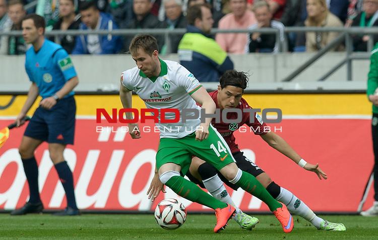 09.05.2015, HDI Arena, Hannover, GER, 1.FBL, Hannover 96 vs Werder Bremen, im Bild Izet Hajrovic (Bremen #14)<br /> <br /> Foto &copy; nordphoto / Frisch