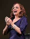 """Valerie Harper<br /> taking a bow at the Broadway Opening Night Curtain Call for """"Looped"""" at the Lyceum Theatre in New York City.<br /> March 14, 2010"""