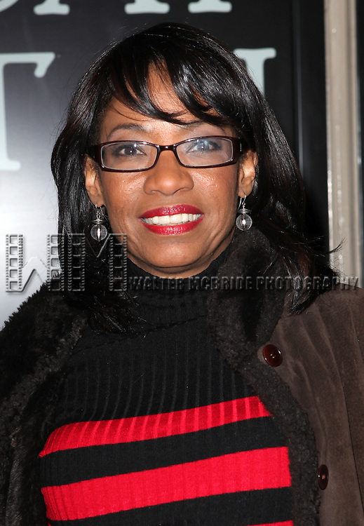 Adriane Lenox attending the Broadway Opening Night Performance of 'Cat On A Hot Tin Roof' at the Richard Rodgers Theatre in New York City on 1/17/2013