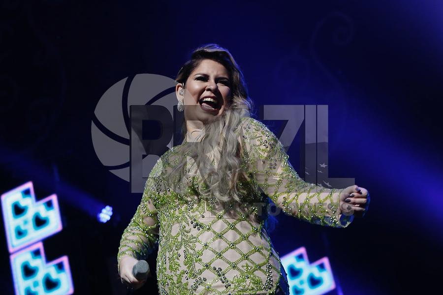 SÃO PAULO, SP, 28.07.2017 - SHOW-SP - Marília Mendonça durante apresentação de show no Citibank Hall na noite desta sexta-feira, 28. (Foto: Adriana Spaca/Brazil Photo Press)