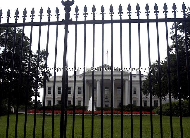 White House Northwest fence, White House Northwest fence, Washington, D.C. fine art photography by Ron Bennett (c). Copyright Fine Art Photography by Ron Bennett, Fine Art, Fine Art photo, Art Photography,