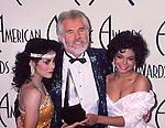 LaToya Jackson. Kenny Rogers and Janet jackson 1985 American Music Awards..