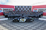 The Wake Forest Demon Deacons football team poses for a photo at the Charlotte Motor Speedway on December 26, 2017 in Concord, North Carolina.  (Brian Westerholt/Sports On Film)