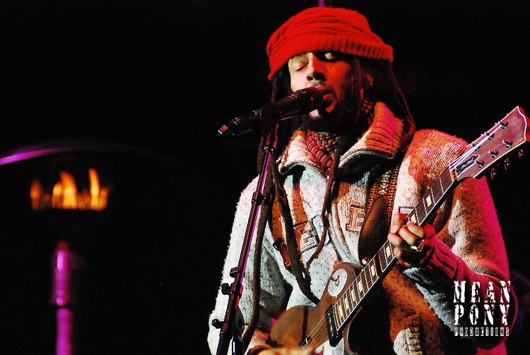 Julian Marley street concert 02.02.11 Park City, Utah, USA <br /> FIS Freestyle World Cup Opening Celebration