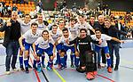 ROTTERDAM  - NK Nacompetitie Zaalhockey heren. HCKZ-Venlo (3-5) Venlo  promoveert.    COPYRIGHT KOEN SUYK